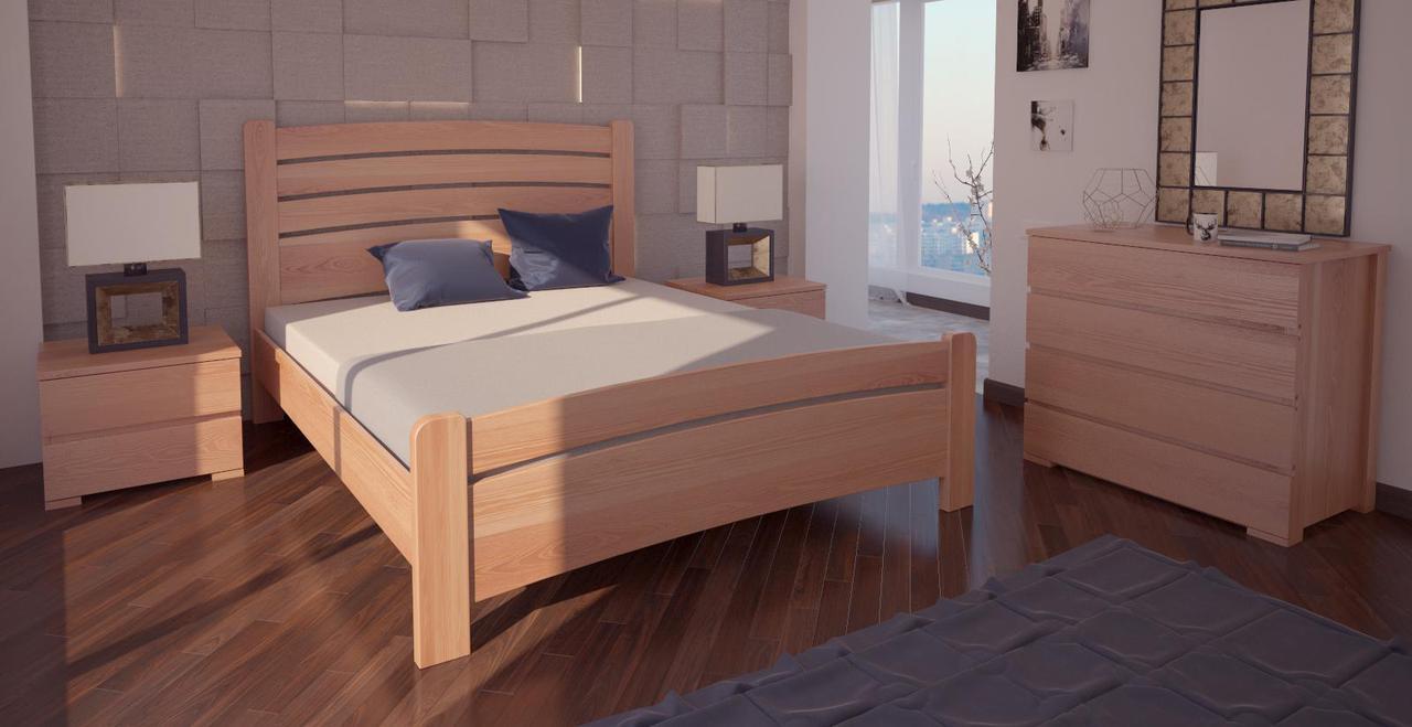 Кровать односпальная в детскую/спальню ХМФ Сидней-3 (90*190)
