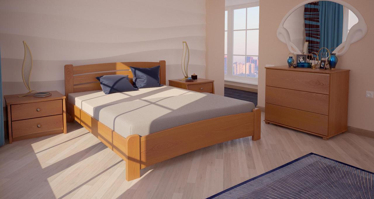 Кровать полуторная ХМФ Сидней (140*200)