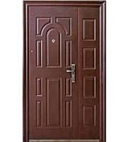 """Входная дверь """"AAA"""" - модель 724 Богатырь (молотковое покрытие, ширина 1200мм)"""