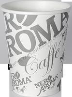Бумажные одноразовые стаканы Nero Aroma 175 мл/плотность 210  (1500 шт.)