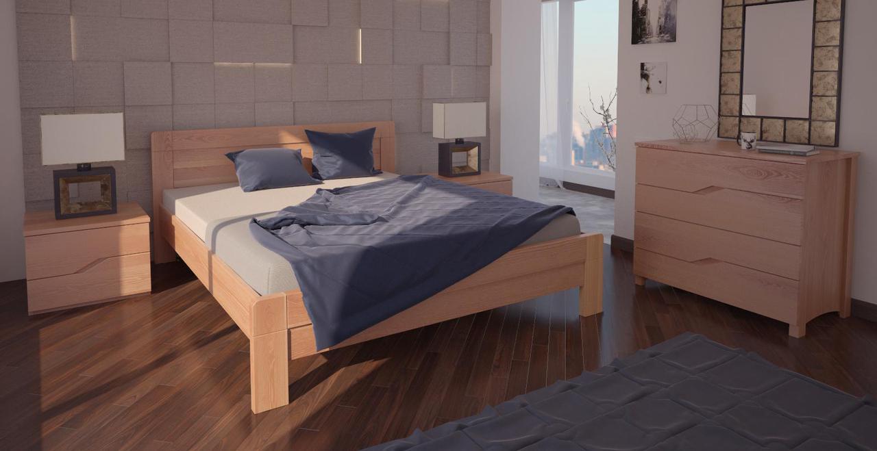 Кровать односпальная в детскую/спальню ХМФ Орландо (90*190)