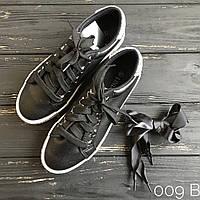 6b943e56 Стильные черные женские мокасины кроссовки с шнуровкой и блестками  (шнуровка ленты атласные в подарок)
