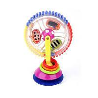 Трехцветная вращающаяся колесо обозрения Baby Windmill Baby Dining Chair Тележка для всасывания Цветной