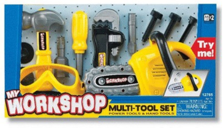Детский игровой набор инструментов  Моя мастерская