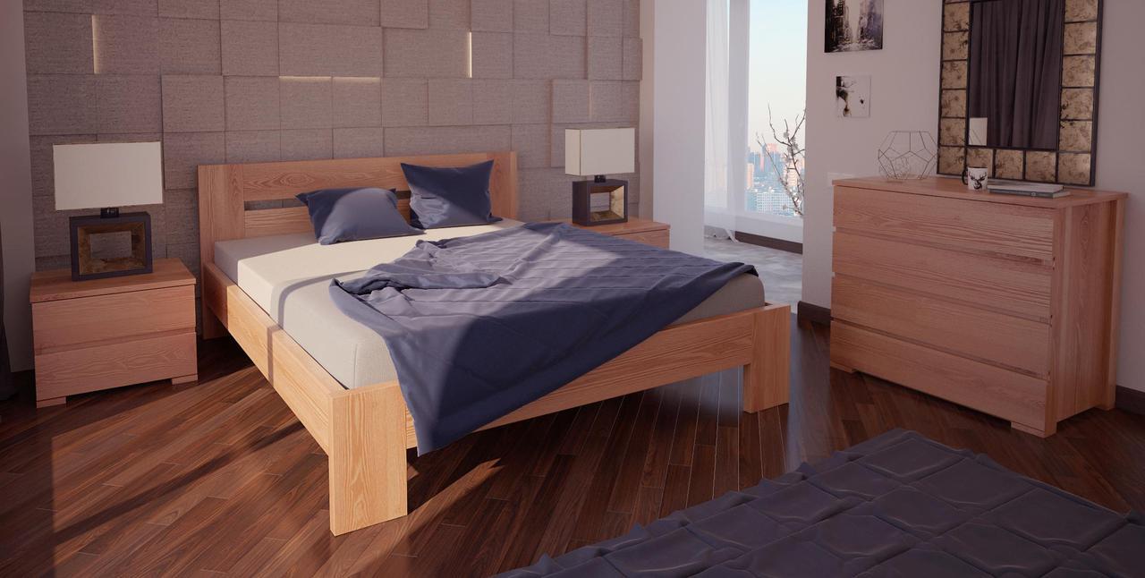 Кровать односпальная в детскую/спальню ХМФ Лондон (90*190)