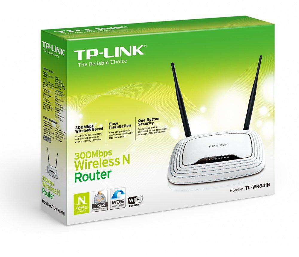 "Маршрутизатор TP-LINK TL-WR841N ""Over-Stock"""