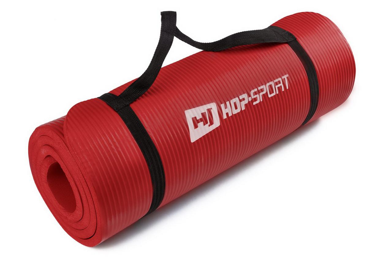 Коврик-мат для йоги и фитнеса «Hop-Sport» (NBR) 1730x610x10 мм