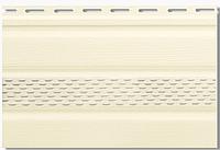 Сайдинг Альта Софит (потолочная панель) с перфорацией 0,235*3м Кремовый