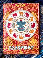 Обложка для паспорта - Цейлонская эко-кожа
