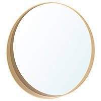 "ИКЕА ""СТОКГОЛЬМ"" Зеркало, ясеневый шпон"