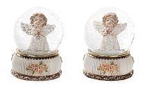 Декоративный водяной шар Девочка-ангел, 2 вида