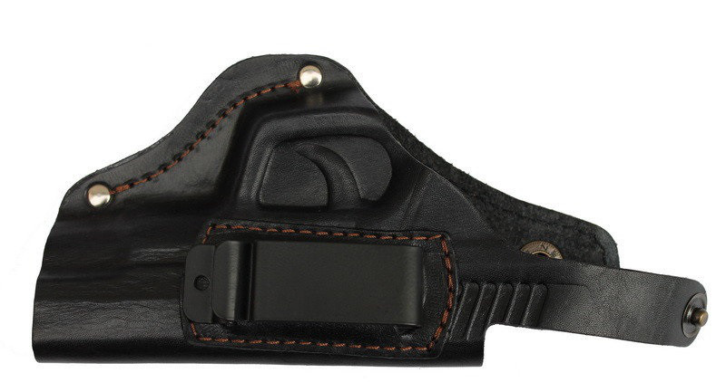 Кобура поясная для пистолета Форт-12 со скобой для скрытого ношения.Кожа.