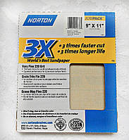 Наждачная бумага лист Norton зернистость  Р 220