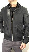 Куртка мужская демисезонная кожзам JuHong