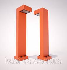 Металлический столбик (фонарь уличный) уличного освещения URBAN1