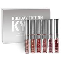 Набор Kylie Holiday Edition из 6 помад