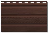Сайдинг Альта Софит (потолочная панель) с перфорацией 0,235*3м Коричневый