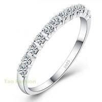 Новые свадебные обручальные кольца для женщин 925 пробы 4