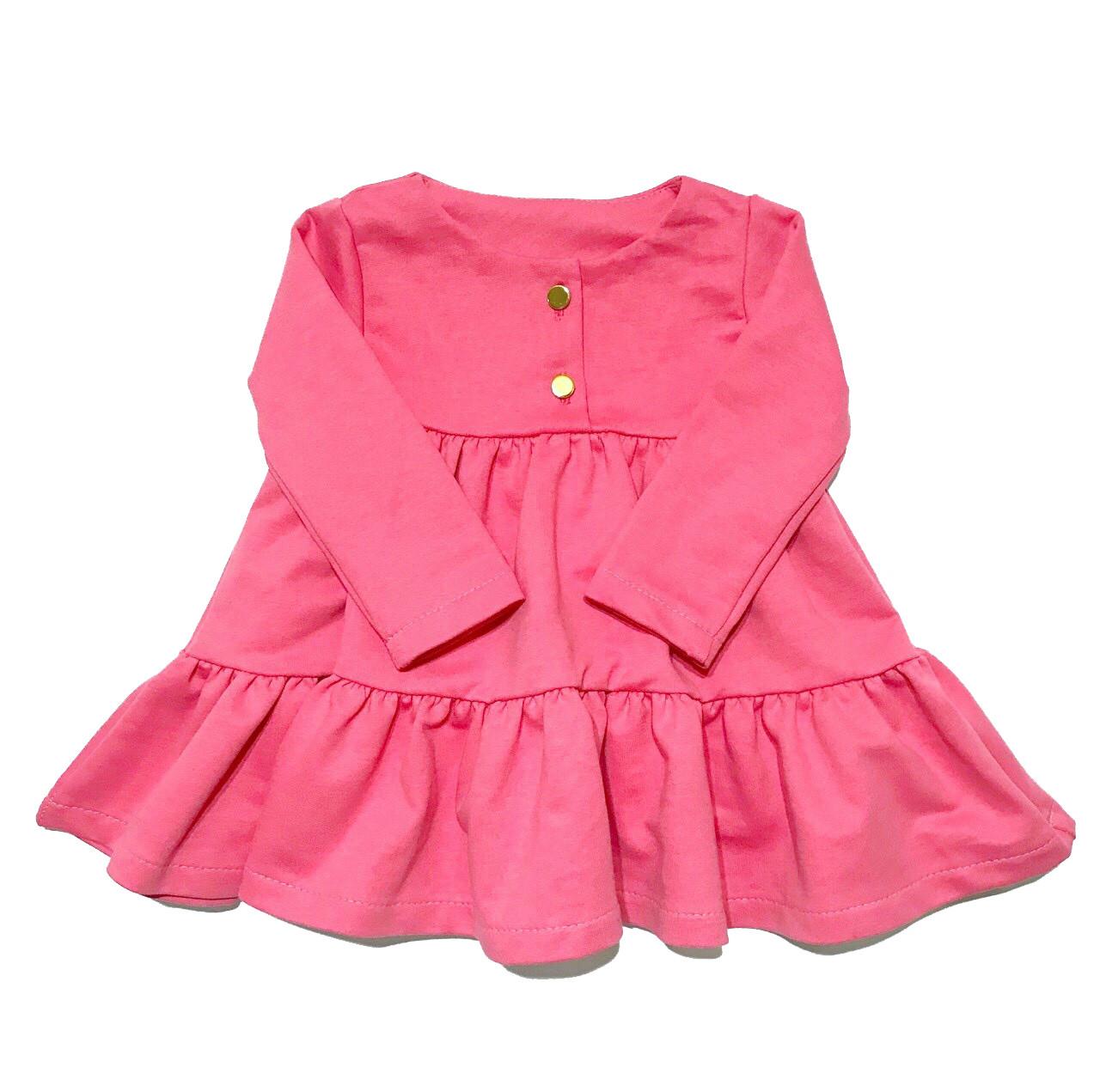 Платье розовое Andriana Kids от 0 до 3 лет