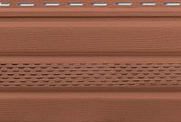 Сайдинг Альта Софит (потолочная панель) с перфорацией 0,235*3м Дуб Светлый