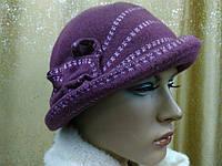 Шляпы RABIONEK из  шерсти с цветком, лиловый цвет