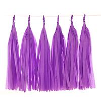 Тассел гирлянда. Цвет:Фиолетовый. В упак: 5 шт.