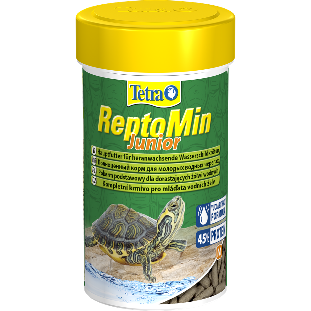 Корм для водных черепах ReptoMin Junior 100 мл Tetra