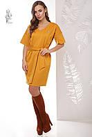 Трикотажное женское платье Шанель-1 рукав три четверти
