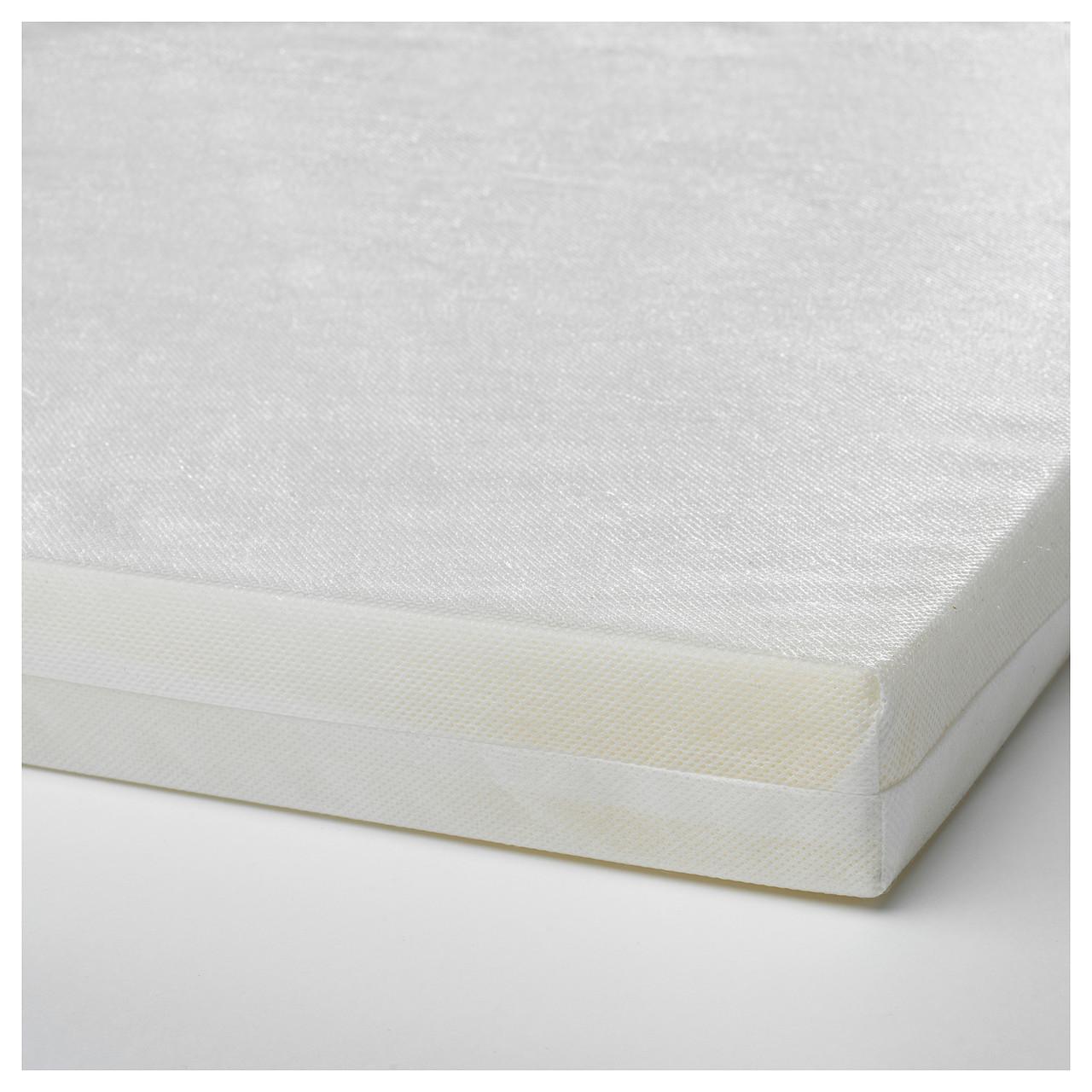 """ИКЕА """"ПЛАТТИГ"""" Поролоновый матрас для детской кроватки 60x120x5 см."""