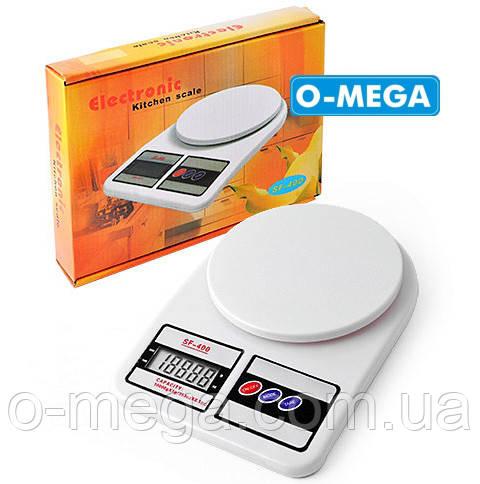 Кухонные электронные весы от 3 г до 10 кг SF400