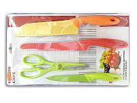 Набор кухонных ножей металлокерамика B20-002
