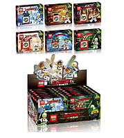 Конструктор Lepin Ninja / Ниндзя 03056 ABCDEF Тотем (аналог Lego Ninjago) 6 видов