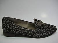 Женские кожаные лоферы ТМ Камея, фото 1
