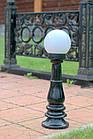 Чугунный столбик (фонарь уличный) уличного освещения №1, фото 2