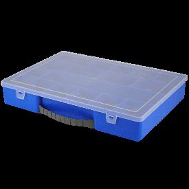 Органайзер ударопрочный 355х250х55 синий мм
