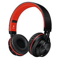 Наушники беспроводные Sound Intone BT-06 Black-Red, фото 1