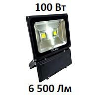 Уличный LED прожектор UKRLED Slim ECO 100 Вт 6500 Лм (6500К) светодиодный IP65