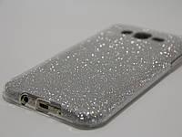 Чехол для смартфона Samsung Galaxy J7 2015 J700H, J7 Neo J701F перелив серебристый, фото 1