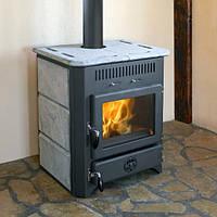 Печь-камин Чугунная печь на дровах MBS Vulkan