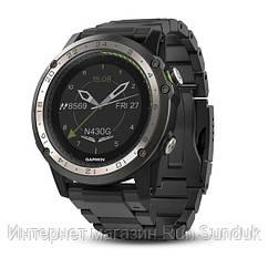 Смарт-часы Garmin D2 Charlie титановый безель с титановым и силиконовым ремешком