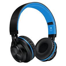 Наушники беспроводные Sound Intone BT-06 Black-Blue, фото 2