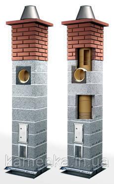 Модульные дымоходы керамика топки для каминов угловые цена