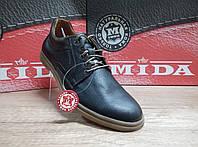 Туфли мужские из натуральной кожи МИДА 110702