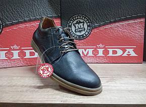 Туфли мужские из натуральной кожи МИДА 110702, фото 2