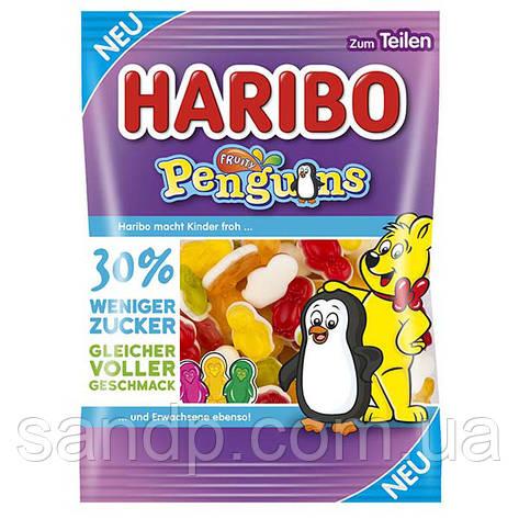 Конфеты Haribo Penguins, фруктовые пингвинчики, 160г, фото 2