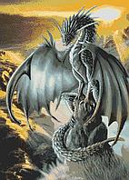 Схема для вышивки бисером А2 Дракон