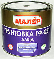Грунтовка ГФ-021 МАЛЯР серый ( 2,8 кг )
