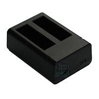 Зарядное устройство USB DUAL для 2-х акумуляторов ASBBA-001 камер GoPro Fusion