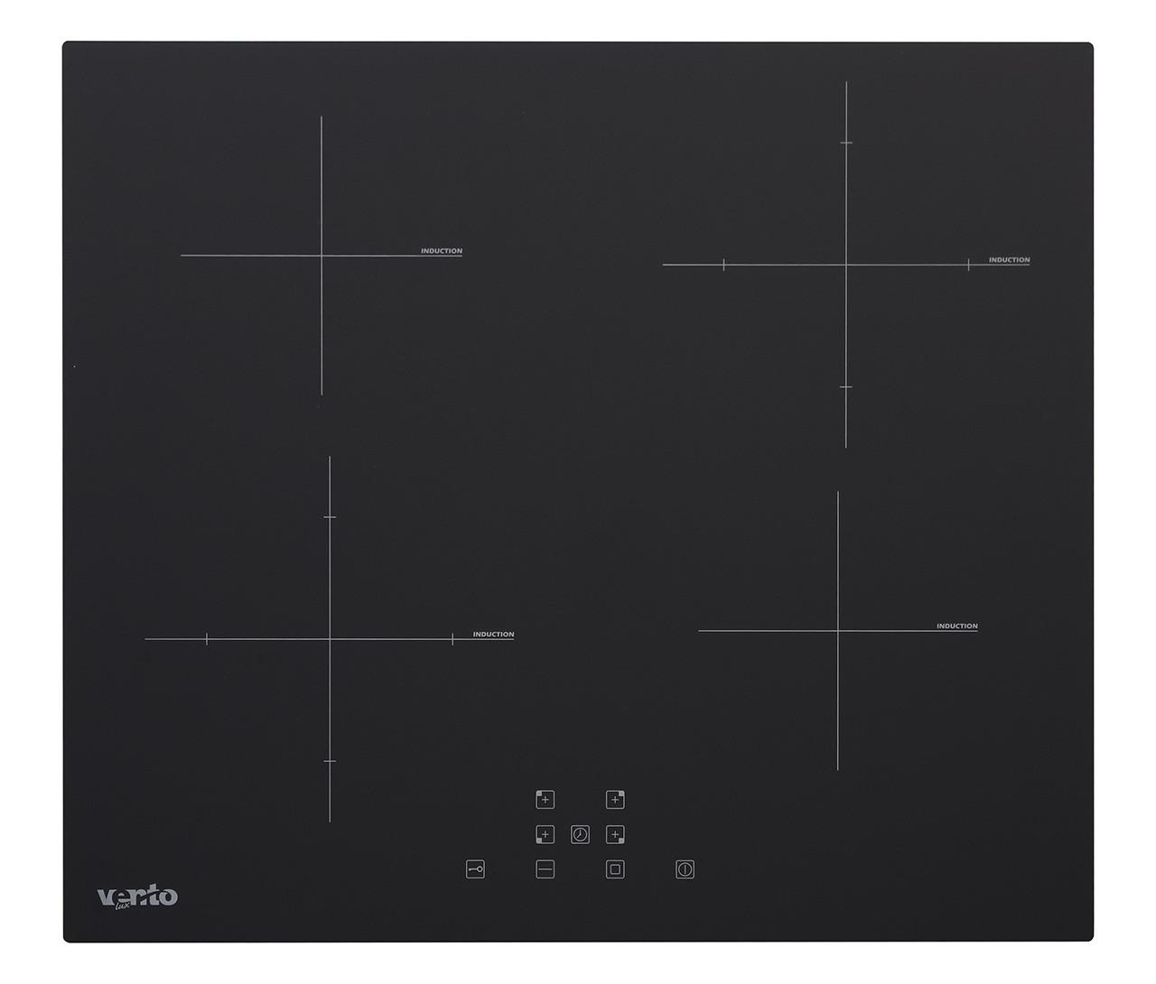 Індукційна варильна панель чорна Ventolux VI TC 64