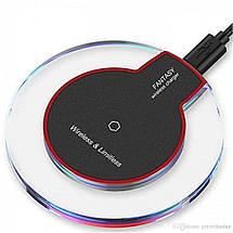 Адаптер для телефона беспроводной K9 QI wireless charger (4080 мон), фото 2